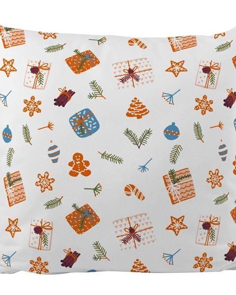 Butter Kings Vankúš s vianočným motívom Butter Kings Wrapped Surprise, 45 x 45 cm
