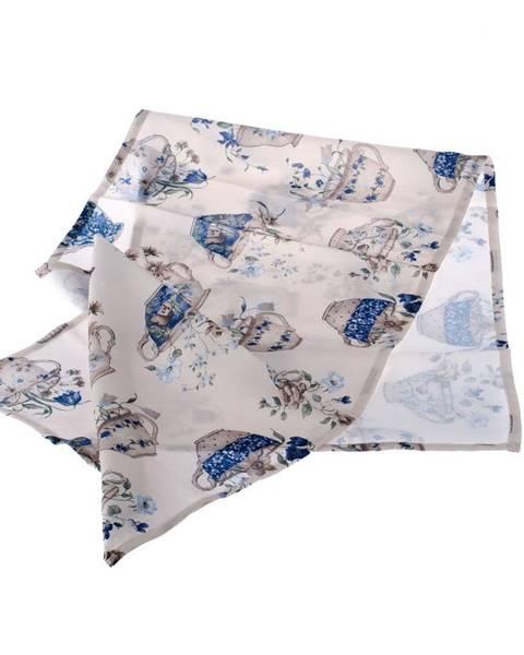 Dakls Behúň na stôl Dakls Blue Violet, 40 x 140 cm