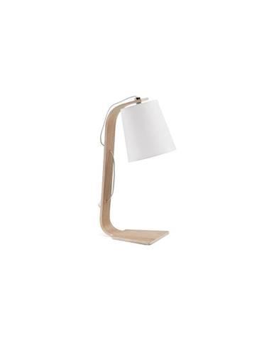 Biela stolová lampa La Forma Percy