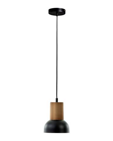 Čierne závesné svietidlo La Forma Amina, výška 15 cm