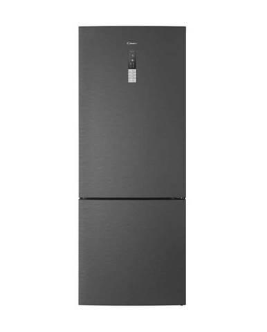 Kombinácia chladničky s mrazničkou Candy Cmnv 7184 DX nerez