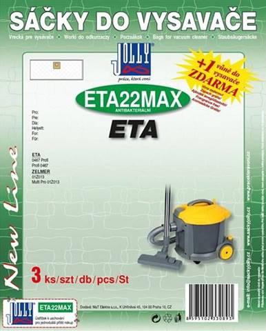 Sáčky pre vysávače Jolly MAX ETA 22
