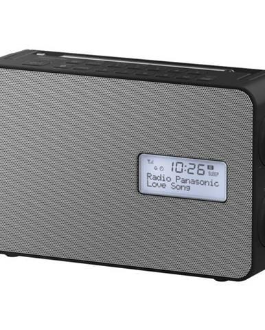 Rádioprijímač s DAB+ Panasonic RF-D30bteg-K čierny