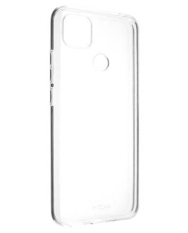 Kryt na mobil Fixed na Xiaomi Redmi 9C priehľadný