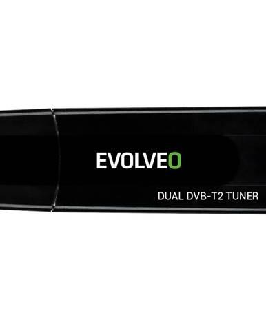 TV tuner Evolveo Venus T2, 2x HD DVB-T2 USB