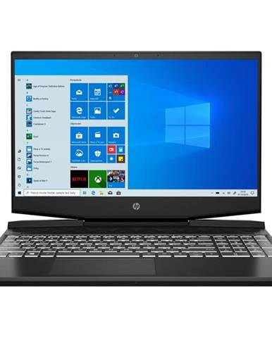 Notebook HP Pavilion Gaming 17-cd0102nc čierny/biely i5-9300H, 16GB