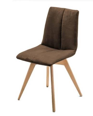 Jedálenská stolička SANNE hnedá