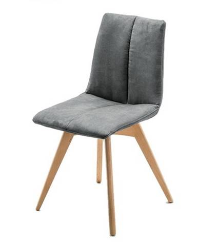 Jedálenská stolička SANNE sivá