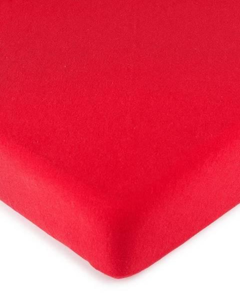 4Home 4Home jersey prestieradlo červená, 140 x 200 cm