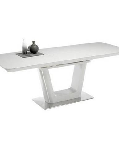 Rozkladací Jedálenský Stôl Scott Biela
