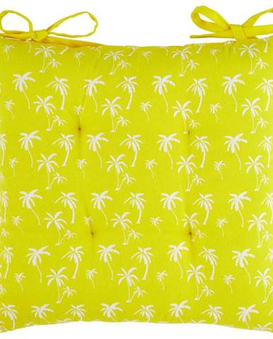 Sedací Vankúš Lady Palms, 40/40cm, Žltá