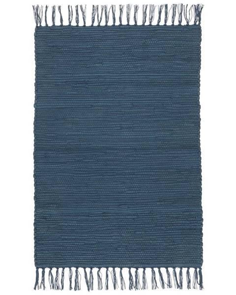 Möbelix Plátaný Koberec Julia 1, 60/90cm, Tm. Modrá