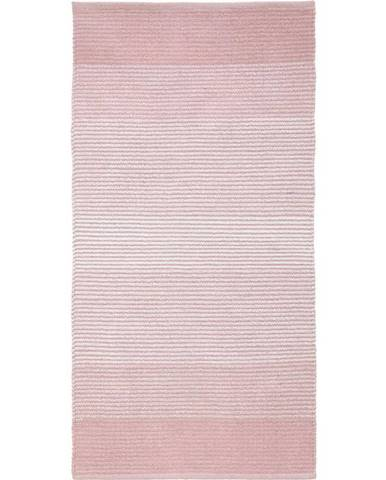 Plátaný Koberec Malto, 70/140cm, Ružová