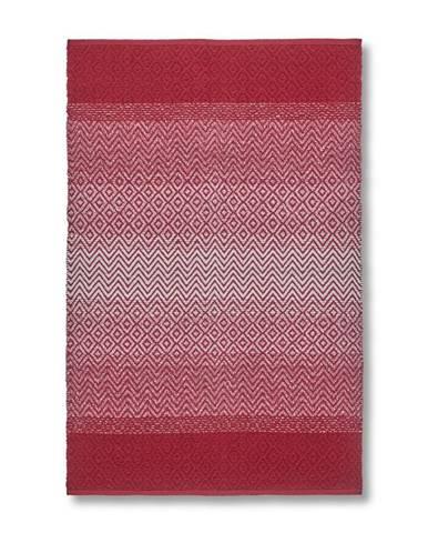 Tkaný Koberec Malta 2, 100/150cm, Červená