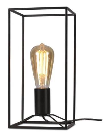 Čierna stolová lampa Citylights Antwerp, výška 30 cm