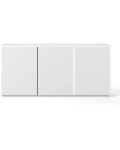 Biela komoda TemaHome Join, 180 × 84 cm