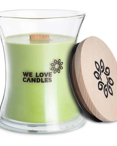 Sviečka zo sójového vosku We Love Candles Green Tea, doba horenia 129 hodín