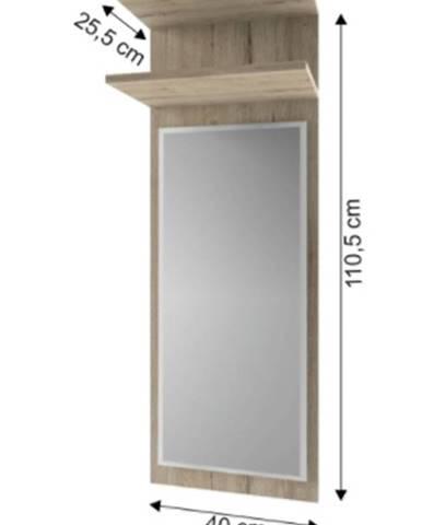Tempo Kondela Panel so zrkadlom Orestes 40