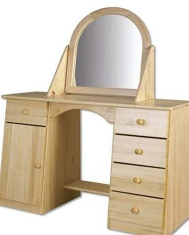 Toaletný stolík so zrkadlom - masív LT107 | borovica