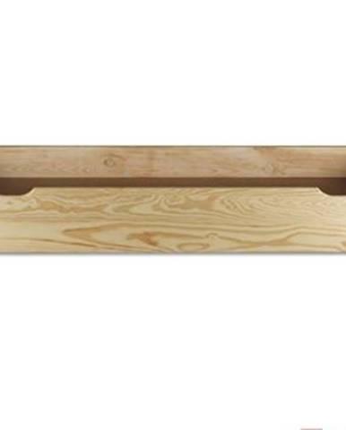 Úložný box pod posteľ - masív LK152   borovica