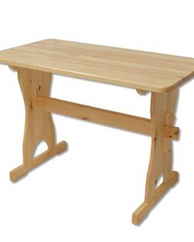 Drewmax Stôl - masív ST103   120cm borovica