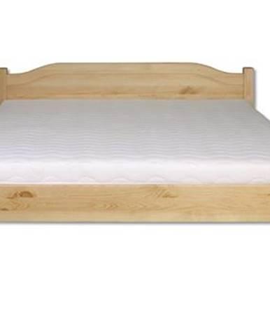 Manželská posteľ - masív LK106   180cm borovica
