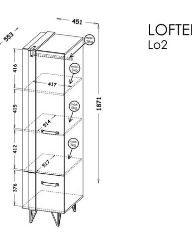 Dolmar Skriňa Lofter LO2