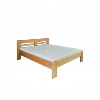 Manželská posteľ - masív LK111 | 180cm buk