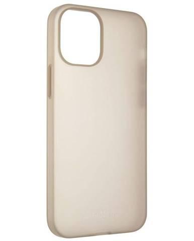 Kryt na mobil Fixed Flow pro Apple iPhone 12 mini - kouřový