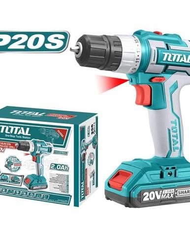 Aku vŕtačka Total tools Tdli20024