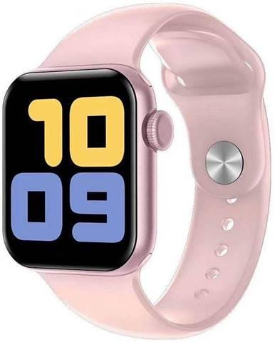 Inteligentné hodinky Carneo Gear+ Cube ružové