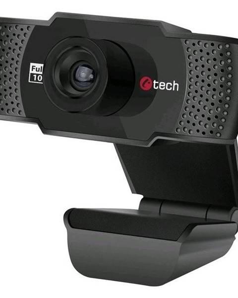 C-Tech Webkamera C-Tech CAM-11FHD, 1080p čierna