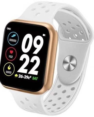 Inteligentné hodinky Immax SW13 Pro biele/zlaté