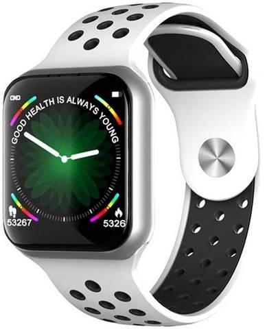 Inteligentné hodinky Immax SW13 Pro strieborné/biele