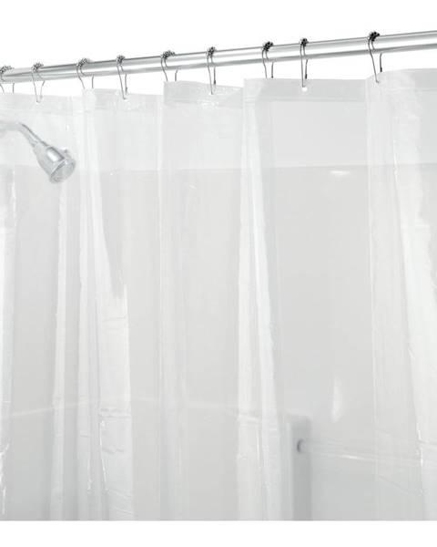 iDesign Priehľadný sprchový záves iDesign PEVA, 200 x 180 cm