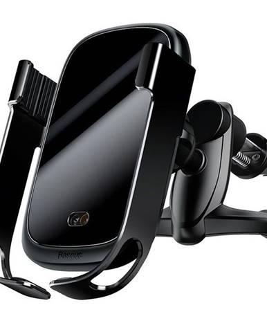 Držiak na mobil Baseus Wireless Rock-Solid 10W čierny