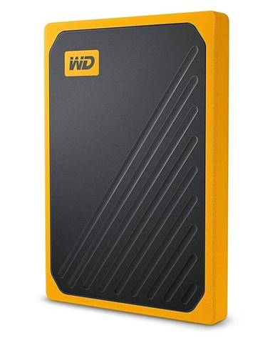 SSD externý Western Digital My Passport Go 1TB žltý