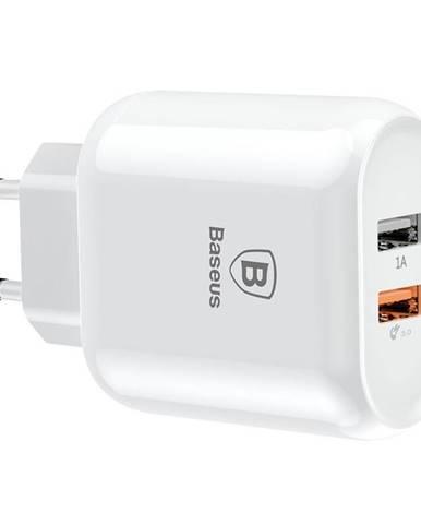 Nabíjačka do siete Baseus Travel Charger Bojure series 2x USB, QC 3