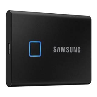 SSD externý Samsung T7 Touch 500GB čierny