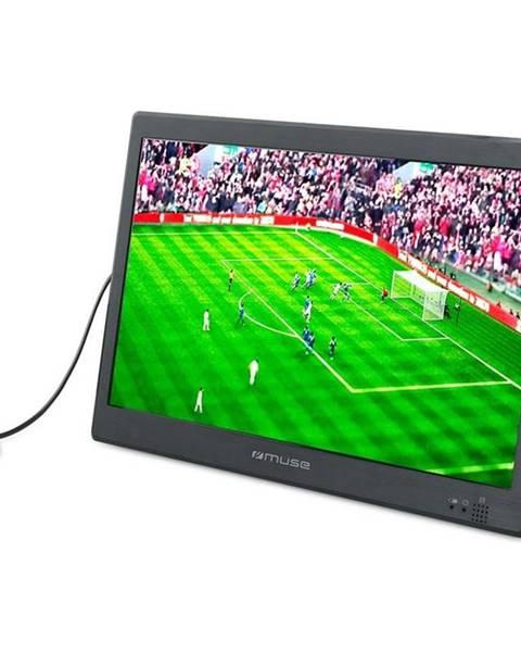 MUSE Televízor MM-335TV, prenosná čierny