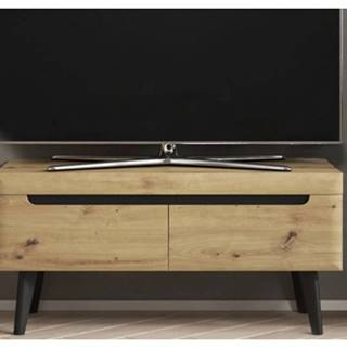 Televízna skrinka Nordi, dub artisan, 107 cm%