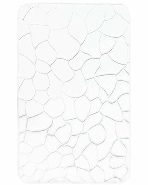 Domarex VOPI Kúpeľňová predložka s pamäťovou penou Kamene biela