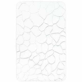 VOPI Kúpeľňová predložka s pamäťovou penou Kamene biela