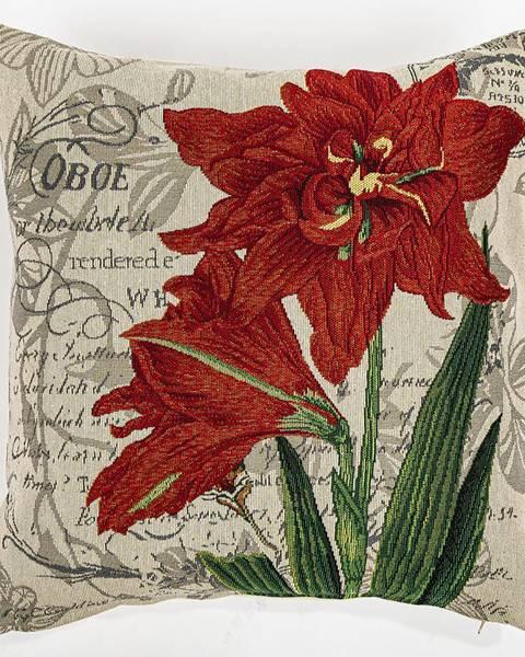 Tescoma Boma Trading Obliečka na vankúšik Ľalia červená, 45 x 45 cm