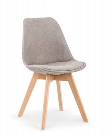 Jedálenská stolička K303 šedá