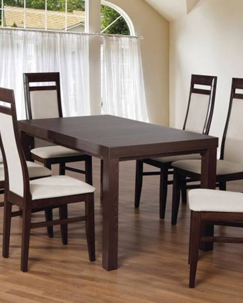 OKAY nábytok Set 3 - 6x stolička, stôl, rozkladací