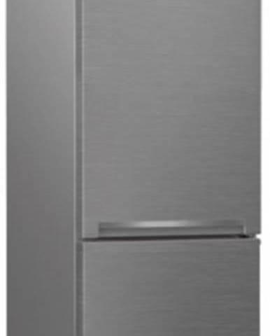 Kombinovaná chladnička s mrazničkou dole Beko RCSA270K30XN