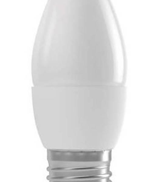 EMOS LED žiarovka Emos ZQ3110, E27, 4W, sviečka, matná, teplá biela