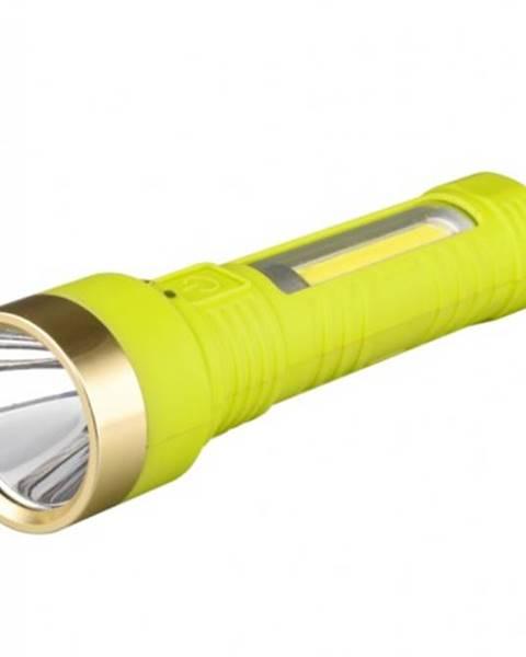 Pavexim Ručné svietidlo Peacock S3112, nabíjací, 1W LED + 3W LED COB