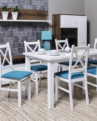 Kasper - Jedálenský set, stôl, rozklad, 6xstolička